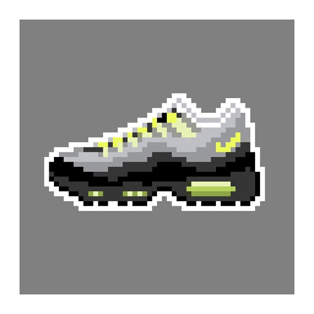 KIXEL8-8-bit-sneaker-a-day-art-project.-Day-9-Air-Max-95-OG-kixel8-kurtzastan-kicks-kicks0l0gy-kicks