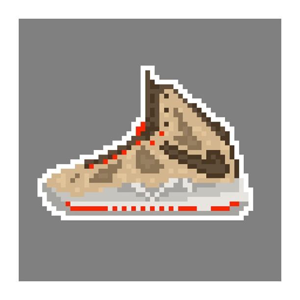KIXEL8-8-bit-sneaker-a-day-art-project.-Day-10-Lebron-X-Cork-kixel8-kurtzastan-kicks-kicks0l0gy-kick