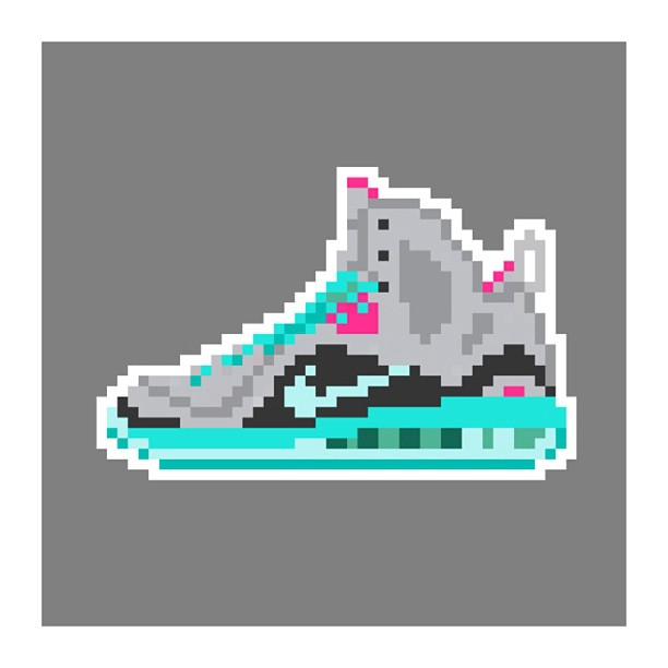 KIXEL8-8-bit-sneaker-a-day-art-project.-Day-13-Lebron-9-PS-Elite-South-Beach-kixel8-kurtzastan-kicks