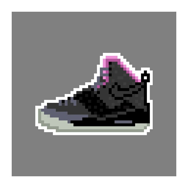 KIXEL8-8-bit-sneaker-a-day-art-project.-Day-15-Air-Yeezy-BlackFuschia-kixel8-kurtzastan-kicks-kicks0