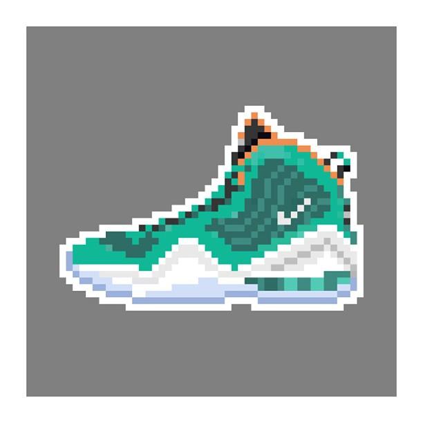 KIXEL8-8-bit-sneaker-a-day-art-project.-Day-16-Air-Penny-5-Dolphins-kixel8-kurtzastan-kicks-kicks0l0