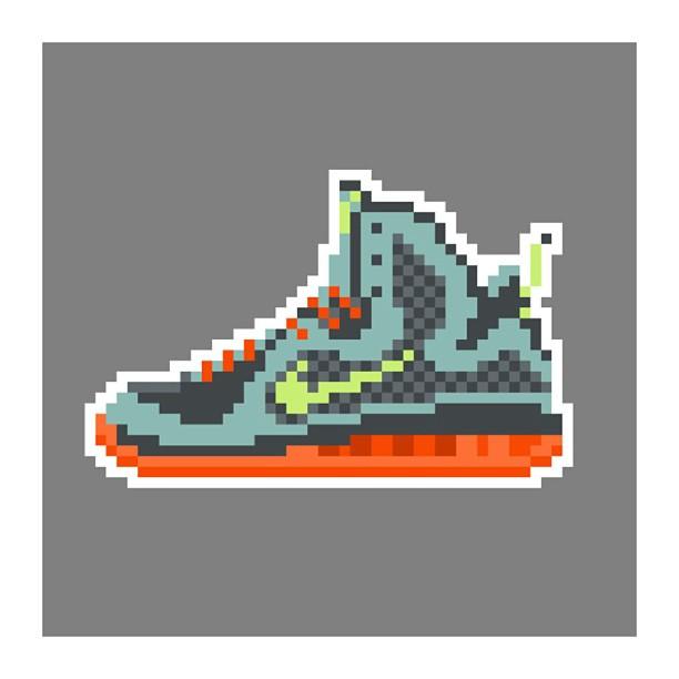 KIXEL8-8-bit-sneaker-a-day-art-project.-Day-17-Lebron-9-Cannon-kixel8-kurtzastan-kicks-kicks0l0gy-ki1