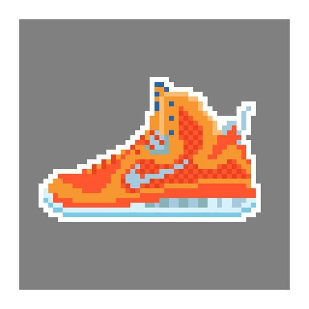 KIXEL8-8-bit-sneaker-a-day-art-project.-Day-18-Lebron-9-Galaxy-kixel8-kurtzastan-kicks-kicks0l0gy-ki
