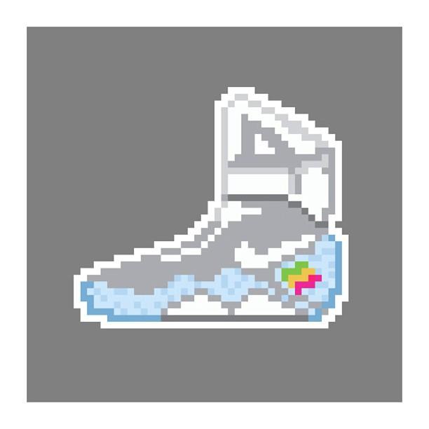 KIXEL8-8-bit-sneaker-a-day-art-project.-Day-20-Nike-Mag-kixel8-kurtzastan-kicks-kicks0l0gy-kicksahol