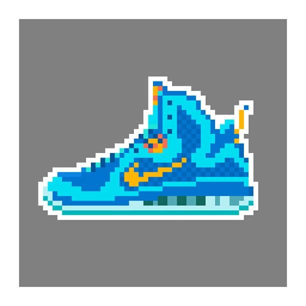 KIXEL8-8-bit-sneaker-a-day-art-project.-Lebron-9-China-kixel8-kurtzastan-kicks-kicks0l0gy-kicksaholi1