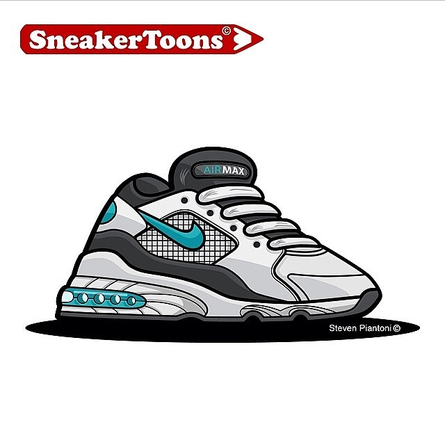 Sneaker-Toons-Air-Max-93-by-@piantoni7-respect-igsneakercommunity-artonfire-kickstagram-solecollecto