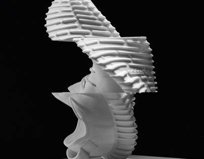 Yeezy Boost Glitch Sculpture