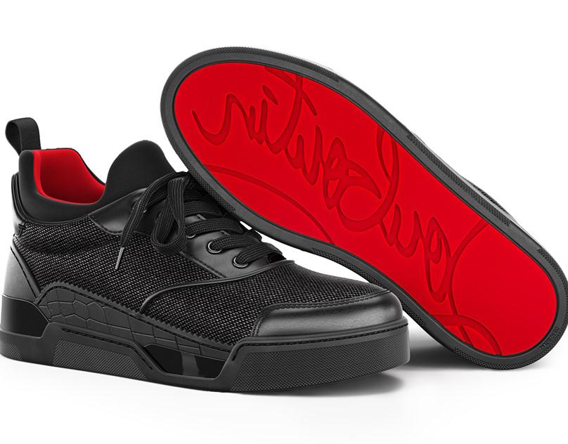 3d model of Christian Louboutin Aurelien Flat sneakers