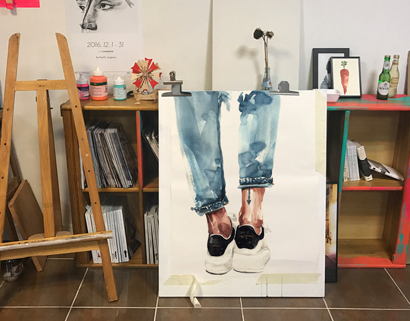 "Fashion Illustration ""Shoes"" series"