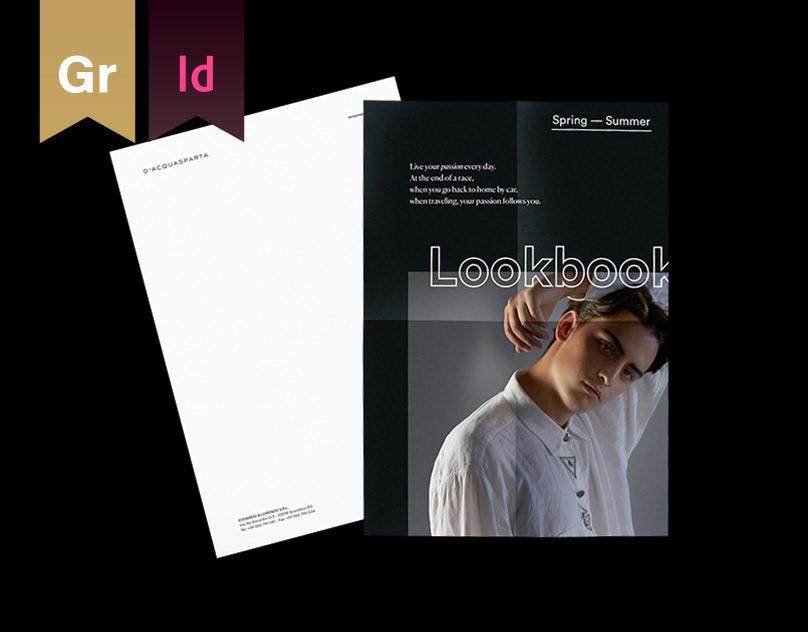D'Acquasparta — Identity & Lookbook
