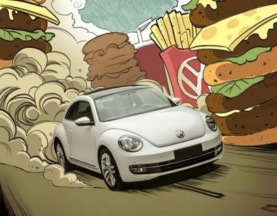 Volkswagen Beetle X 1626 magazine