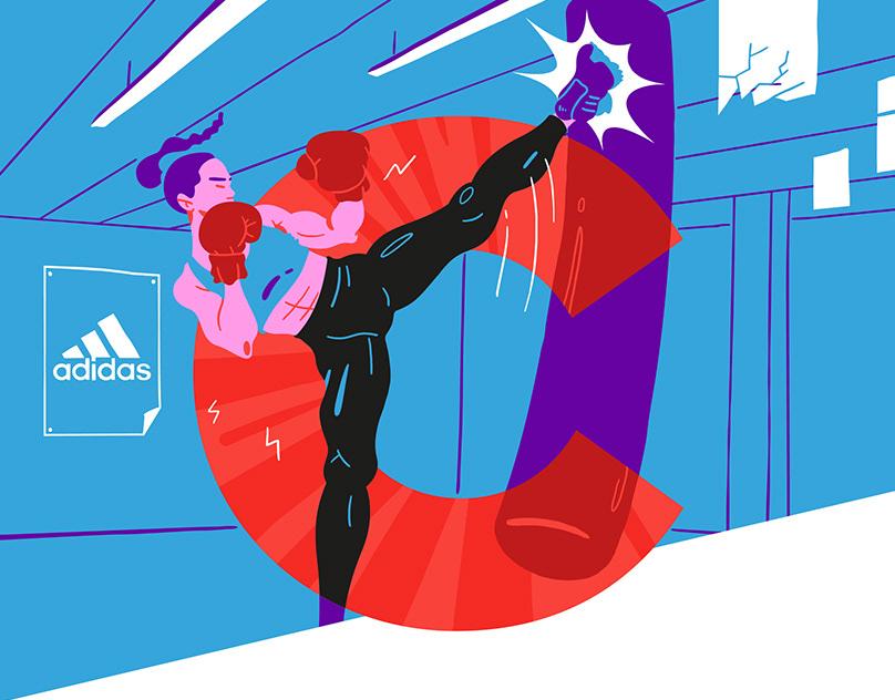 Adidas & Wonderzine