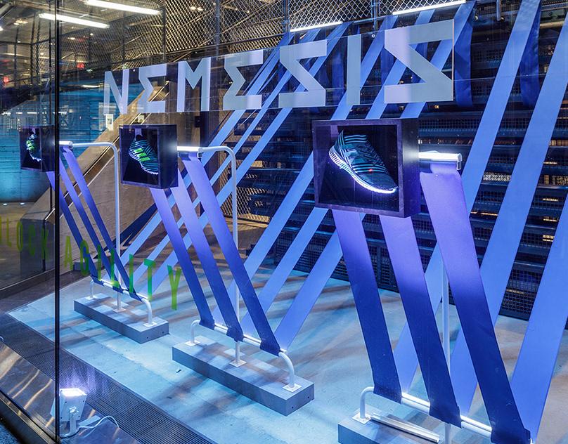 Adidas Nemesis Retail Design