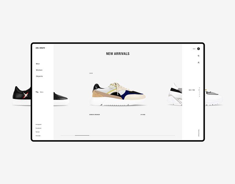 AXEL ARIGATO — Website