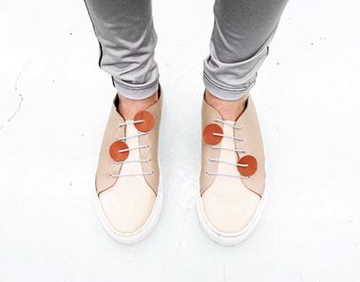 Pop-Dot Sneakers