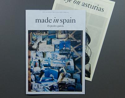 Pedro García, Made in Spain, Asturias / content & copy