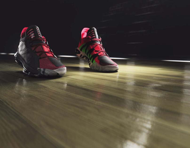 Adidas: Damian Lillard Lightstrike