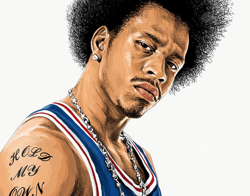NBA Players' Portraits