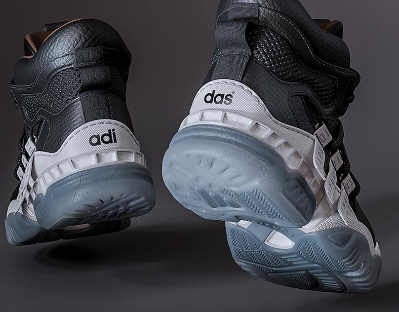 Adidas Boost Hitop Sneaker.