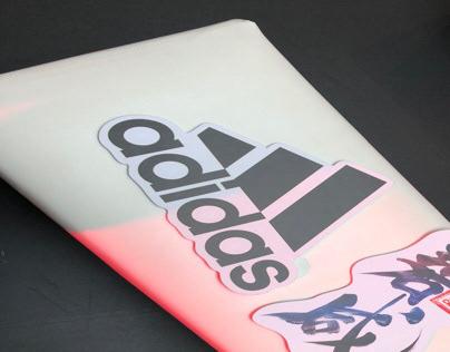 Calligraphy artwork for Adidas / David Beckham