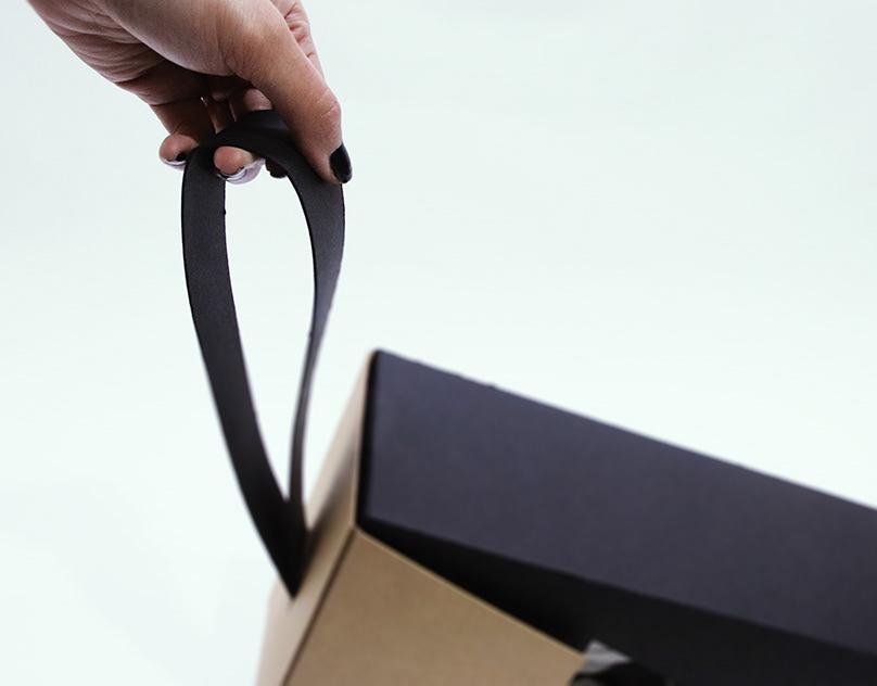 Standbox. /Sustainable shoebox